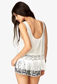 Showstopper Fringed Top | FOREVER21 - 2041606173