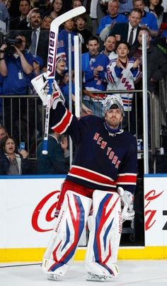 Henrik Lundqvist, New York Rangers thank you for getting the Rangers as far as they did! King Henrik!!