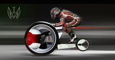 Monobike by Ilia Vostrov. I'll take one.
