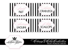 Coco Chanel Bride Design Sticker | Classy and Chic Collection - Printable Placecards | Flickr - Photo ...