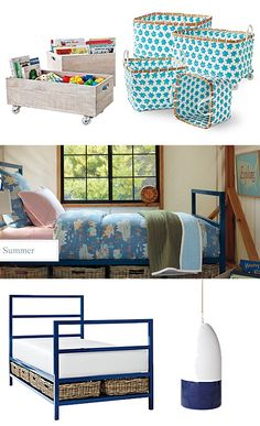 storage for the kids' room