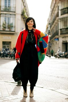 On the Street….ColorBlack, Madrid « The Sartorialist