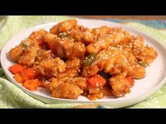 In this episode of Laura in the Kitchen Laura Vitale shows you how to make Sweet and Sour Chicken! Asian Recipes, New Recipes, Ethnic Recipes, Dinner Recipes, Favorite Recipes, Laura In The Kitchen Recipe, Chicken Home, Sweet N Sour Chicken, Latest Recipe