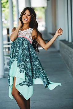 Boho Print Summer Dresses! 2 Styles!   Jane