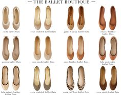 although I don't particularly like ballet flats