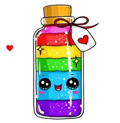 Colors of rainbow and happiness