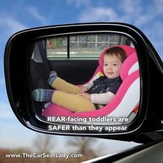 Forward facing car seats are for up to 7 years old or longer ...