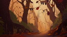 animation backgrounds forest - Google Search