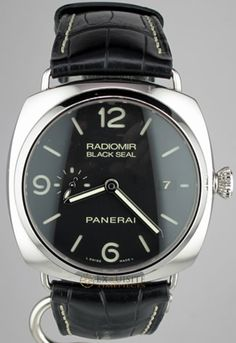 Buy this Pre-owned Panerai PAM 388 Radiomir Black Seal and more Pre-owned watches at Exquisite Timepieces.