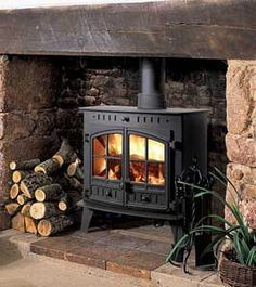 woodstove surround | Wood Stove Ideas