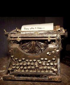 Nostalgia — old typewriter