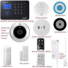 DIGOO Wireless Home Security Door Alarm Burglar System Infrared Motion DIY Kits #DIGOO