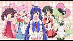 Kiritan, Rana, Otomachi Una, Kaai Yuki and Macne Petit Kaai Yuki, Kagamine Rin And Len, Kawaii Girl, Gods And Goddesses, Pink Color, Cool Pictures, Hero, Singer, Rion