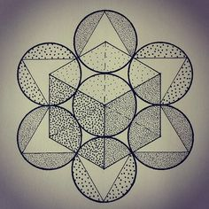 Jake Haselman #linework #geometric #sacredgeometry #dotwork