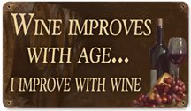 but really, EVERYthing improves with wine ;)
