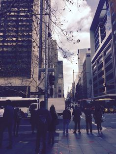 A wintry morning in York Street York Street, Sydney, Times Square, Street View, Winter, Photography, Travel, Winter Time, Photograph