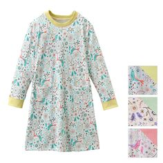 Bird and Floral print Home dress