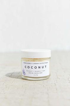herbivore botanicals x urban outfitters coconut + bamboo fiber facial exfoliant
