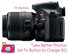 A Life-Changing bit of info for all entry-level Nikon DSLR owners.  Using Fn Button to Set ISO! http://www.momandcamera.com/2013/05/08/take-better-photos-the-fn-button/