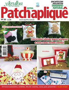 Artesanato - Apliquê - Patchwork : AGULHA DE OURO PATCH APLIQUE EXTRA 020…