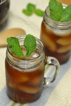Mint Iced Tea  - Supper for a Steal