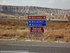 Capadócia - Turquia Capadocia, Underground Cities, City, Cappadocia Turkey, Travel, Photos, Cities