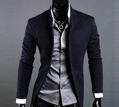 Slim Fit Sport Coat Blazer minus the chain