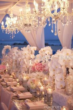 #Wedding #blush ♥ https://itunes.apple.com/us/app/the-gold-wedding-planner/id498112599?ls=1=8 'How to plan a wedding' iPhone App ... Your Complete Wedding Ceremony & Reception Guide ♥ http://pinterest.com/groomsandbrides/boards/ for more magical wedding ideas ♥ pinned with love.