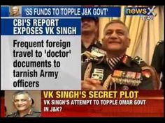 NewsX: Unit set up by V K Singh misused secret funds - Army inquiry