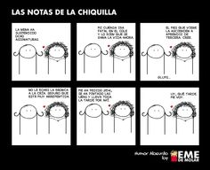 #humor #notas #chiquilla #risa