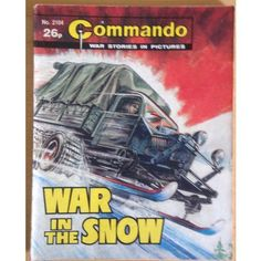 Commando Comic Picture Library #2104 War Action Adventure £2.00