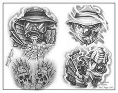 Steve Soto: Tattoo Flash