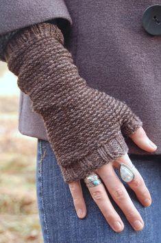 Earl grey mitts Knitting pattern by Bristol Ivy | Knitting Patterns | LoveKnitting