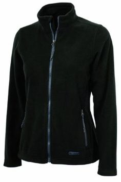 Charles River Apparel Women's Boundary Fleece Jacket, Black, 3 Extra Large Charles River Apparel. $32.95