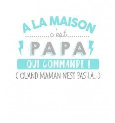 Tshirt Papa Commande