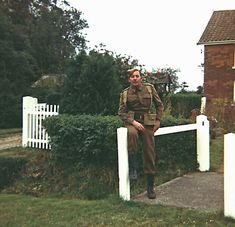 Keith Eldred, the head of a Am Dram society near to where filming took place, became a popular fixture on set. He recalled that James Beck (pictured) 'was constantly chatting up all the girls' James Beck, Durham Museum, British Sitcoms, Dad's Army, Home Guard, Boys Are Stupid, Me Tv, On Set, A Team