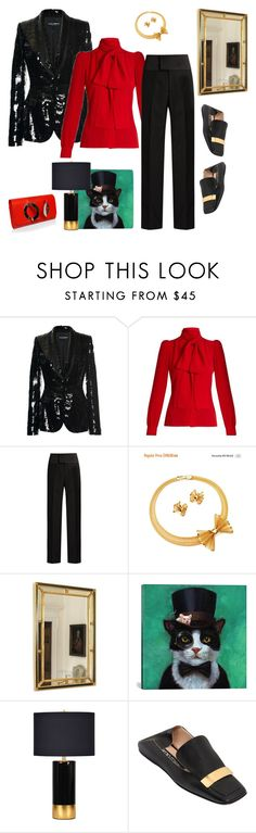"""She- Wingman. Bro Codex"" by juliabachmann ❤ liked on Polyvore featuring Dolce&Gabbana, Sonia Rykiel, Balenciaga, Givenchy, iCanvas, Ren-Wil and Sergio Rossi"
