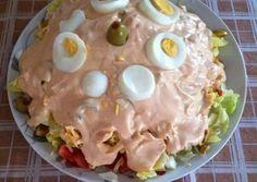 Σαλάτα του Σεφ με ενα μυστικό...(σςςςςςςς) συνταγή από τον/την Argiro V - Cookpad Greek Salad, Interior Design Kitchen, Food Inspiration, Salad Recipes, Salads, Recipies, Food And Drink, Appetizers, Pudding