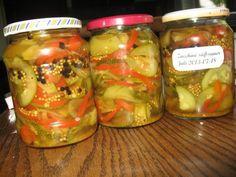 Einmachen: Süß-sauer eingelegte Zucchini - Rezept - kochbar.de