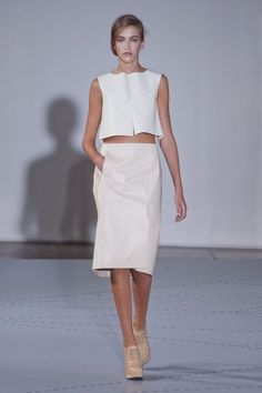 Jil Sander Spring 2014 Image Source: IMAXTREE