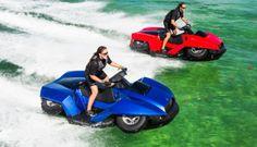 Quadski moto de agua y quad http://buenespacio.es/quadski-moto-de-agua-y-quad.html #quad #motos #anfibio