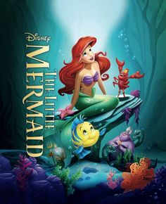 The Little Mermaid is now available for the first time ever on Blu-ray Combo Pack and Digital HD!