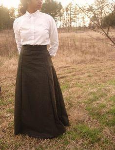 Edwardian Skirt from Aspiring Homemaker: January 2010