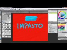 How To Use Impasto [Corel Painter X3 & 12]