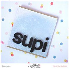 Karte Supi - Scrapbook Werkstatt Juli Kit 2015 - designed by Alexandra Boehnke (Tandi-Works)