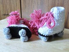 Roller Skate Booties, $16.95  Just because babies are limited to booties doesn't mean they can't have a rockin' shoe collection. These crocheted roller skate booties can custom made, so you can choose blue for little boy skaters, if you like