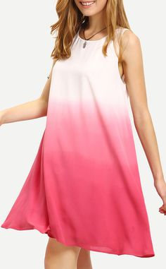 The best dress in your closet this season will definitely be the Keep Playing That Ombre Color Sleeveless Swing Dress! Whether for a cross-country adventure, or weekend getaway, you'll really wow wherever you go in this cutie. You deserve one.