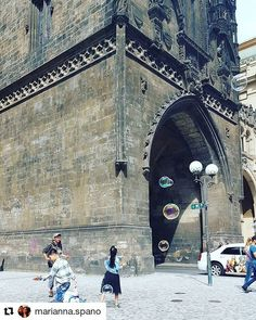 #Repost @marianna.spano with Powder Tower Prague  #praga #praguecity #praguelife #kids #balls #life #children #play #happiness #holiday  #prasnabrana #portadellepolveri