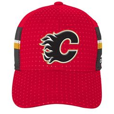 wholesale dealer 729d9 fe168 Youth Calgary Flames adidas Red 2017 Draft Flex Hat, Your Price   27.99