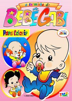 Turminha do Bebê Gabi 01 - Para Colorir Autor: Moacir Torres Editora EMT 2015